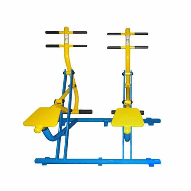 Simulador de Cavalgada Duplo - Flex Equipment