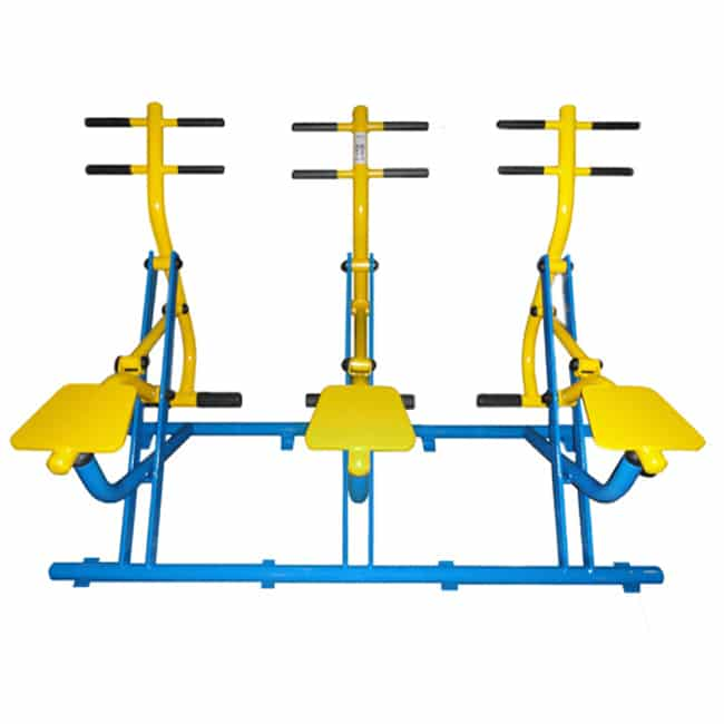 Simulador de Cavalgada Triplo - Flex Equipment
