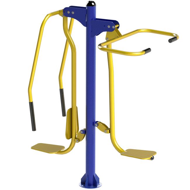 Peitoral com Puxador Conjugado - Flex Equipment