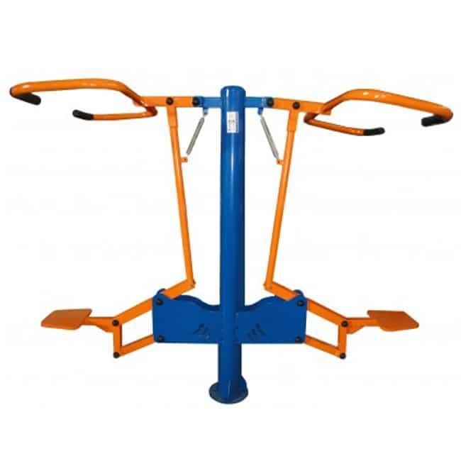 Puxador Duplo - Flex Fitness