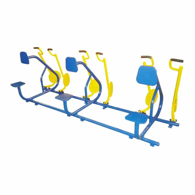 Remada Sentada Tripla - Flex Equipment