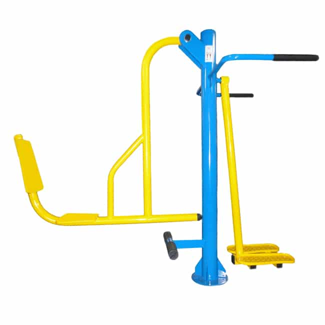 Leg Press com Twist Lateral Conjugado - Flex Fitness