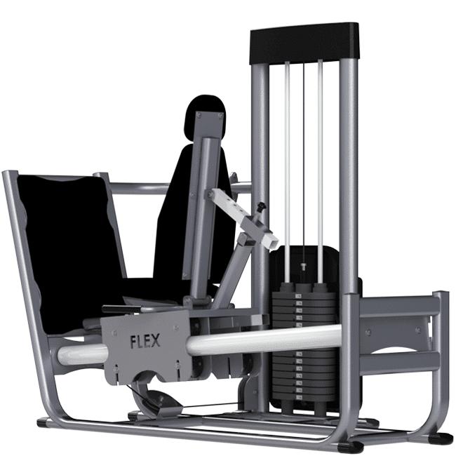 Leg Press 180º - Flex Equipment