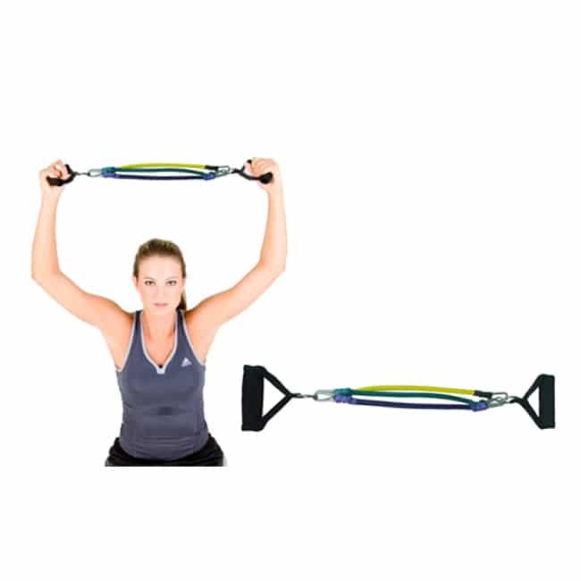 Elástico Extensor 3 Níveis para Braços - Flex Fitness
