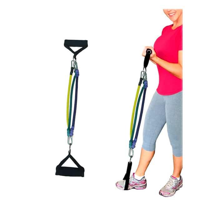 Elástico Extensor 3 Níveis para Pernas - Flex Fitness