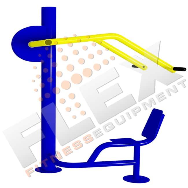 Máquina Desenvolvimento De Ombros - Flex Equipment
