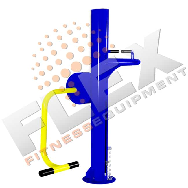 Máquina de Glúteos - Flex Fitness