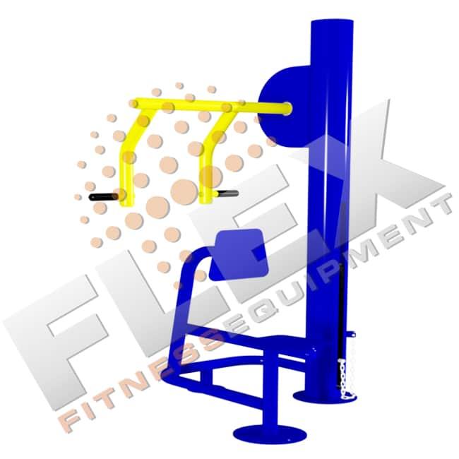 Máquina Remada Sentada - Flex Fitness