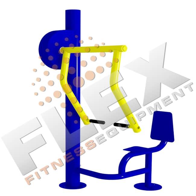 Máquina Supino Vertical - Flex