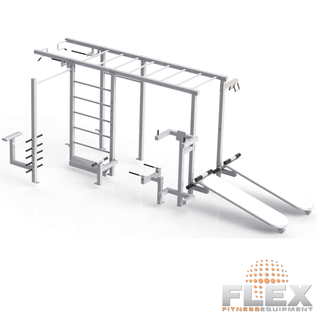 Multi-Estação INOX NX-ABS - Flex Fitness