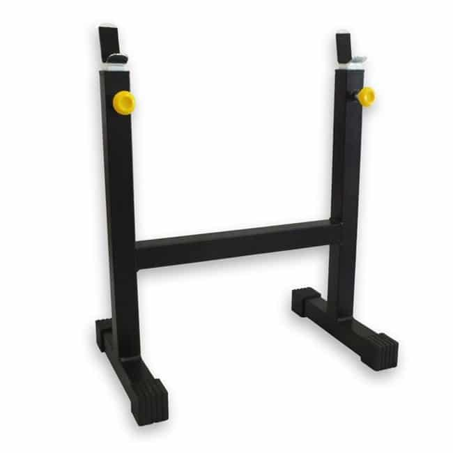 Cavalete para Barras Regulável - Flex Fitness