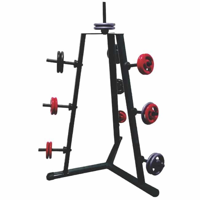 Suporte de Anilhas 10 Pinos - Flex Fitness