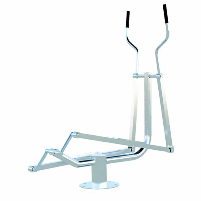 Elíptico Mecânico INOX - Flex Fitness