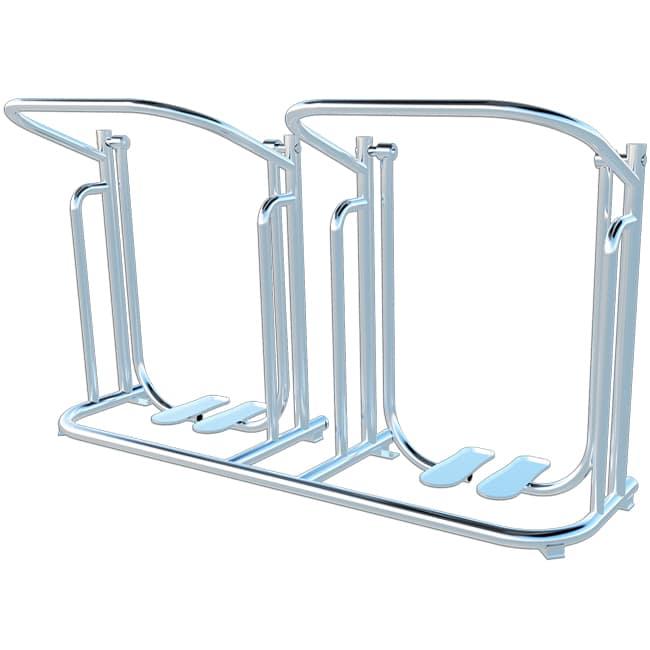 Simulador de Caminhada Duplo INOX - Flex Equipment