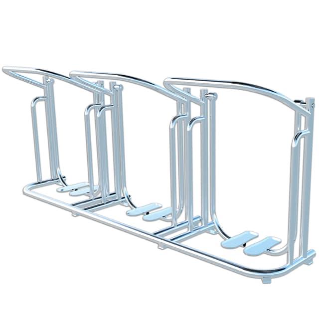 Simulador de Caminhada Triplo INOX - Flex Equipment