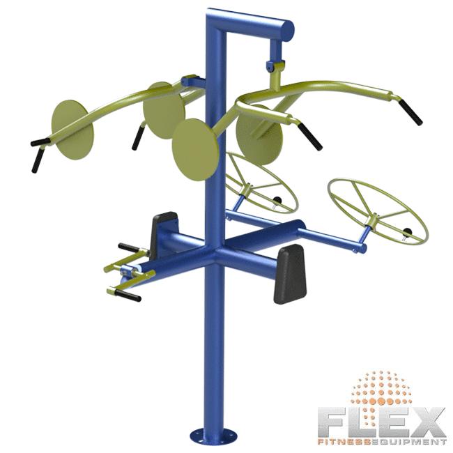 Multi-Estação Necessidades Especiais - Flex Equipment