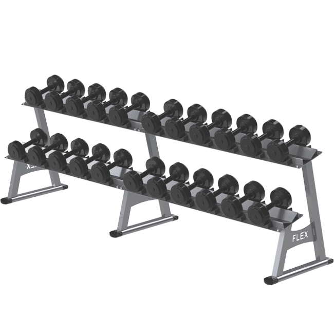 Estante para Dumbbells - Flex Equipment