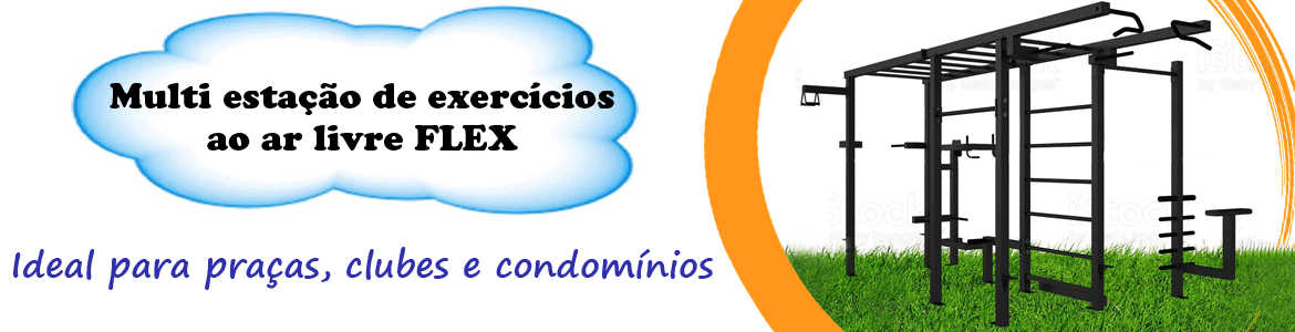 Multi estacao ar livre flex - Flex Fitness