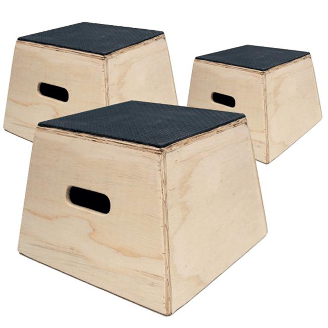 Kit Caixas de Salto – Madeira - Flex Equipment