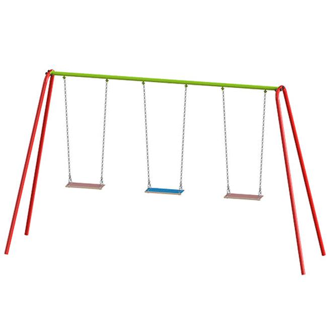 Balanço de Ferro 3 Lugares – FE01 - Flex Equipment