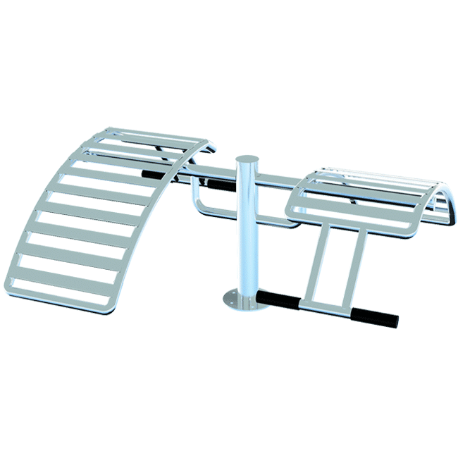 ABDOMINAL DUPLO INOX - Flex Equipment