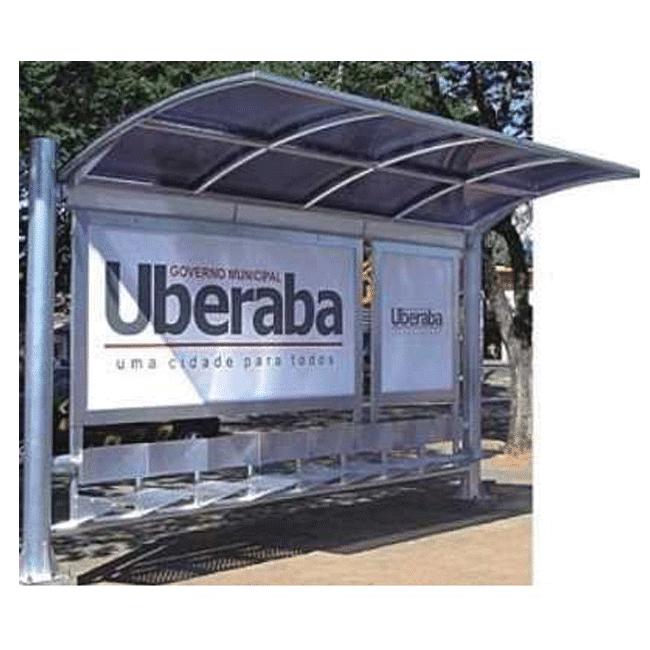 AB04 – Abrigo de Ônibus - Flex Equipment