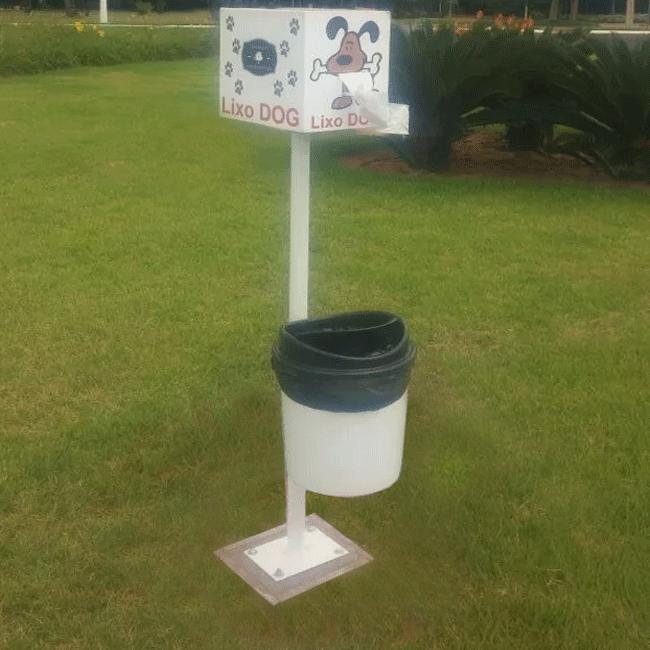 Lixeira Lixo Dog - Flex Equipment