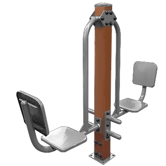 Leg Press Duplo MADEIRA - Flex Equipment