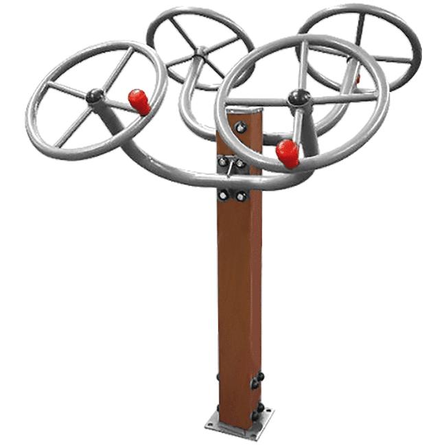 Roda diagonal dupla / Rotação diagonal duplo MADEIRA - Flex Equipment