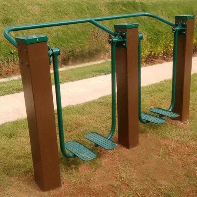 Simulador de Caminhada Duplo MADEIRA - Flex Equipment