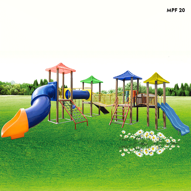 MPF20 – PLAYGROUND INFANTIL 4 TORRES - Flex Equipment