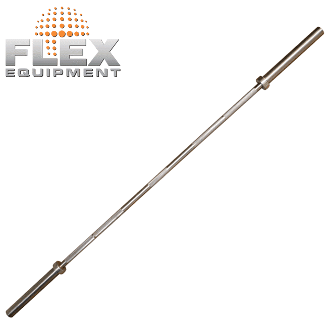 Barra Olímpica – INOX - Flex Equipment
