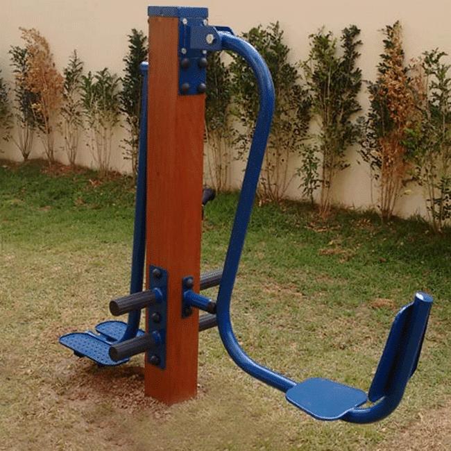 LEG PRESS COM TWIST LATERAL CONJUGADO – MADEIRA - Flex Equipment