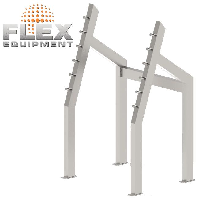 Agachamento – JOVEM INOX - Flex Equipment