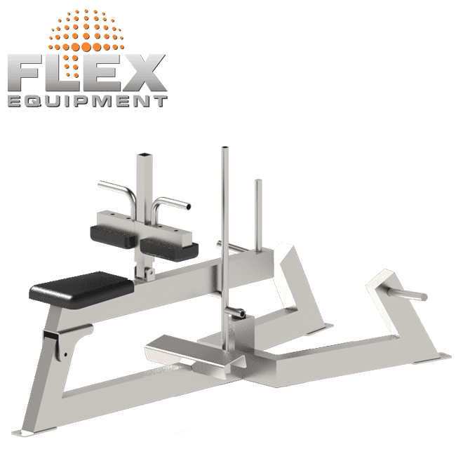 PANTURRILHA SENTADA – INOX - Flex Equipment