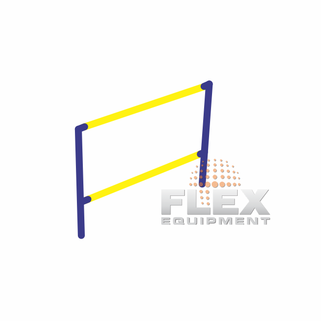 BARRA FIXA 2 ALTURAS – PET PLACE - Flex Equipment