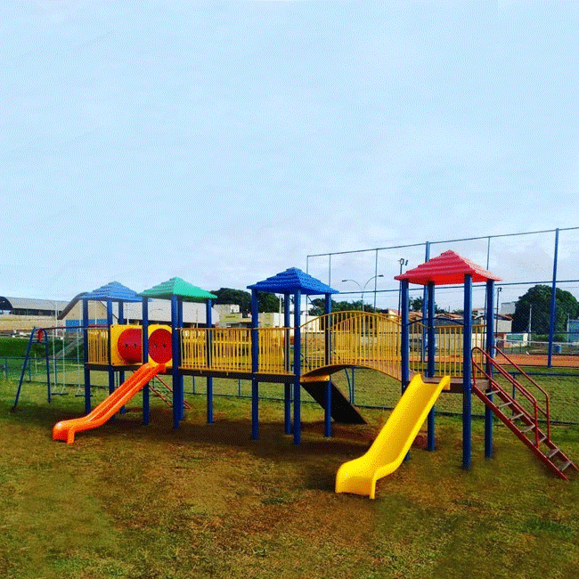 PTF01 – PARQUE INFANTIL 4 TORRES - Flex Equipment