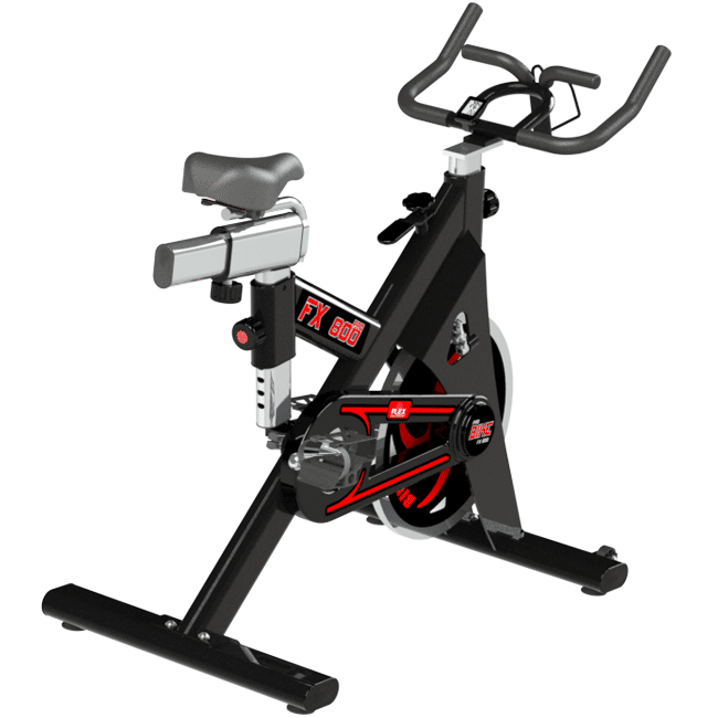BICICLETA SPINNING FX-800S COM PAINEL - Flex Equipment