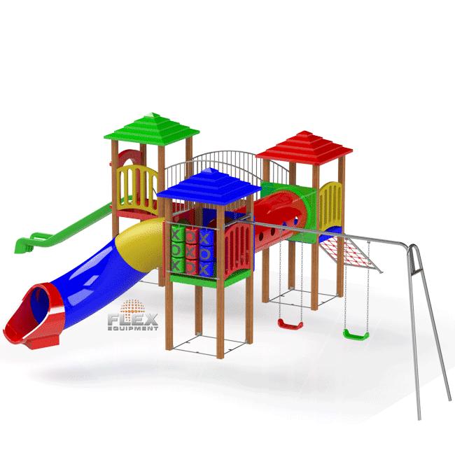 KIT ENTERTAINMENT KIDS INOX – EXCLUSIVE - Flex Equipment