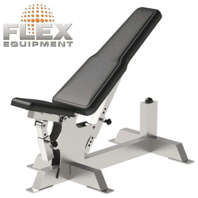 BANCO REGULAVEL – INOX - Flex Equipment