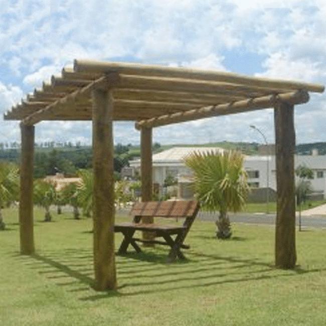 PERGOLADO DE EUCALIPTO - Flex Equipment