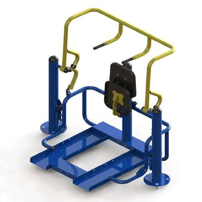 ABDOMINAL COM ELEVAÇÃO – HIBRIDO - Flex Equipment