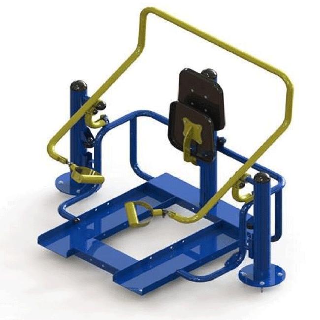 BÍCEPS COM ELEVAÇÃO – HIBRIDO - Flex Equipment