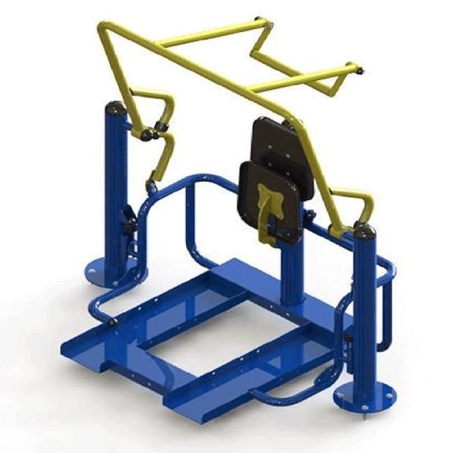 TRICEPS COM ELEVAÇÃO – HIBRIDO - Flex Equipment