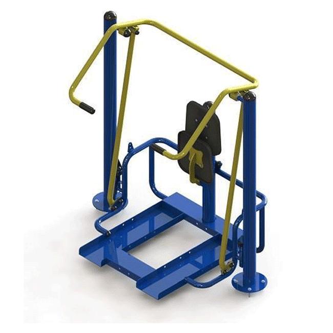 PUXADA ALTA COM ELEVAÇÃO – HIBRIDO - Flex Equipment